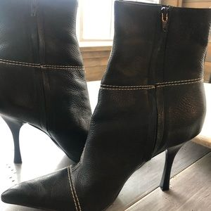 BCBG....... pointed high heel boots